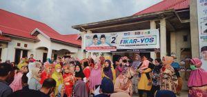Program Pro Rakyat dan Unggul di Debat,120 Srikandi Paling Serumpun Makin Yakin Pilih Fikar-Yos