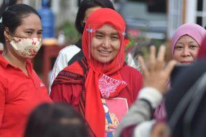 Di Hadapan Emak-emak, Ratu Jelaskan Pemulihan Ekonomi dengan Program Duta Desa