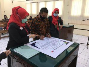 PTUN Jambi tandatangani Perjanjian Kerjasama Penyedia Layanan Hukum Posbakum