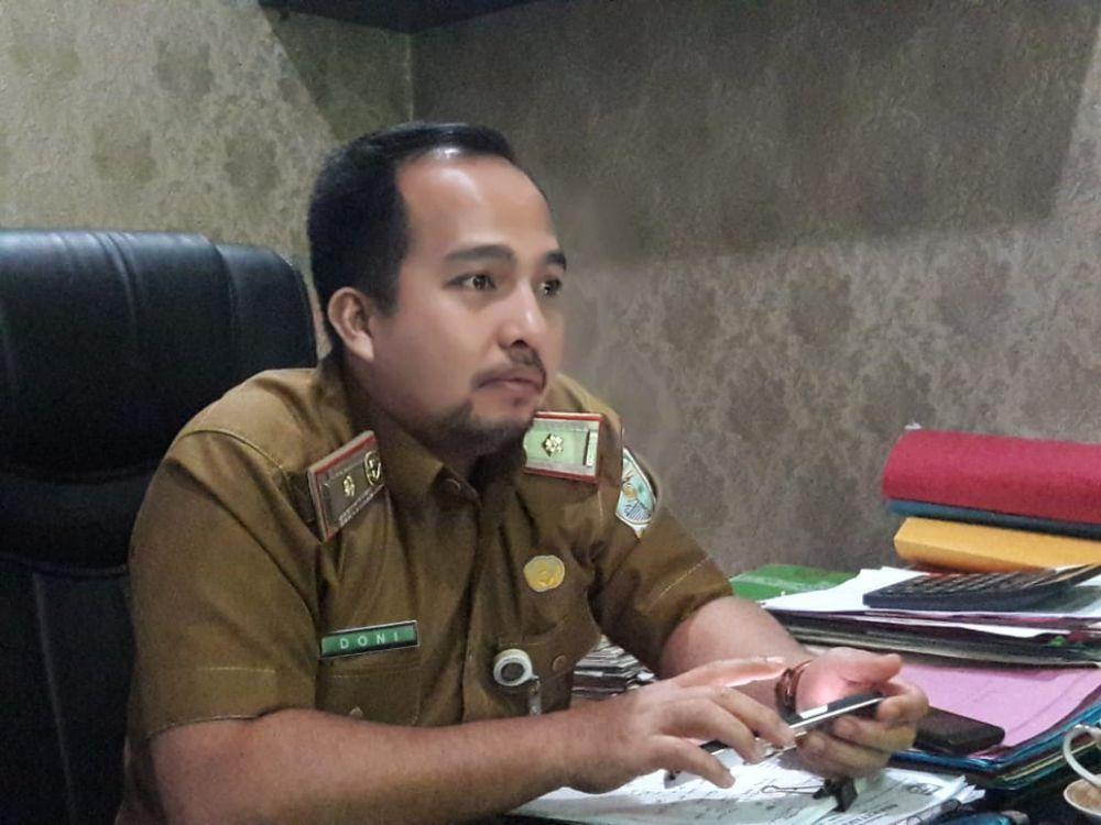 sekretaris Dinas Perindustrian dan Perdagangan Kota Jambi Doni