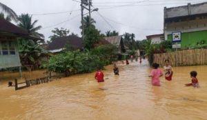 Puluhan Rumah di Sarolangun dan Bungo Terendam Banjir