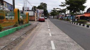 Jalur Sepeda Jadi Tempat Parkir