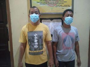 Dua Truk Angkut Minyak Ilegal Digelandang ke Polres