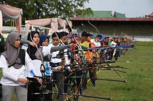 250 Atlet Panahan Se Sumatera Beradu Jitu di Jambi