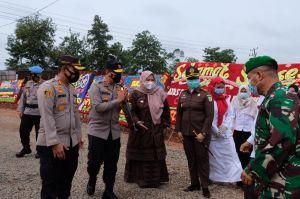 Bupati Masnah Hadiri Peresmian Gedung Kantor Polsubsektor Sungai Gelam Bersama Kapolda