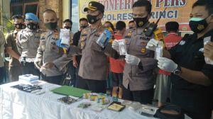 Jaringan Pengedar Narkoba Antar Provinsi Diungkap Polres Kerinci