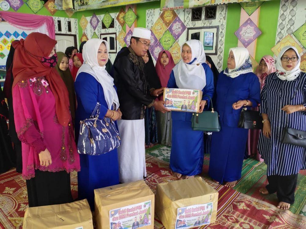 PWI -IKWI Provinsi Jambi Gelar Bakti Sosial, Rangkaian Kegiatan HPN 2021