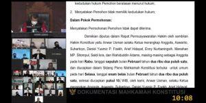 Gugatan Fikar-Yos Ditolak MK, Ahmadi-Antos Walikota Sungaipenuh