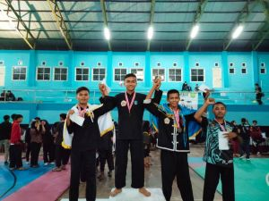 Mahasiswa STIA Nusa Juara 1 Pencak Silat se Sumatra