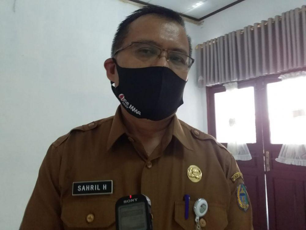 Kepala Dinas Pemberdayaan Masyarakat dan Pemerintahan Desa kabupaten Kerinci, Sahril .