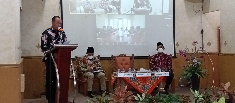 Konsultasi Publik RKPD 2022 Tebo Ngirit Rp1 M