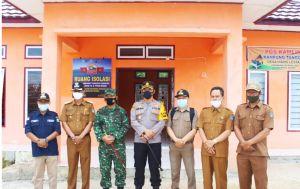 Kapolres dan Dandim 0417/ Kerinci Pantau Kesiapan Posko Kampung Tangguh