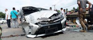 Kecelakaan Lagi di KM 7 Lintas Bungo Tebo, Satu Orang Dilarikan ke Rumah Sakit