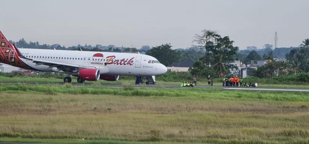 Sudah Terbang 20 Menit, Pesawat Batik Air Kembali Ke Jambi