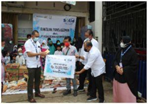 PTP Nusantara VI merayakan Ulang Tahun dengan Memberikan Bantuan kepada PantiAsuhan