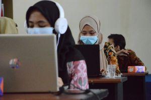 Terapkan Prokes, Pemilihan Duta Bahasa Provinsi Jambi 2021 Digelar Daring dan Luring