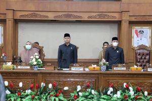 Bupati Masnah Sampaikan LKPj Dihadapan DPRD