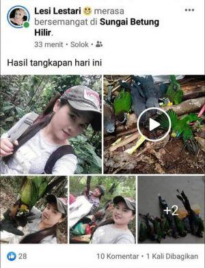 Unggah Foto Burung Dilindungi Ditembak, Dua Gadis Tuai Kecaman