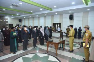 Fasha Lantik 34 Pejabat Fungsional