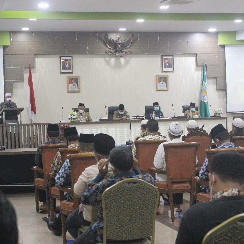 Wakil Wali Kota Jambi, Maulana, membuka pelatihan manajemen kepengurusan masjid kemarin.