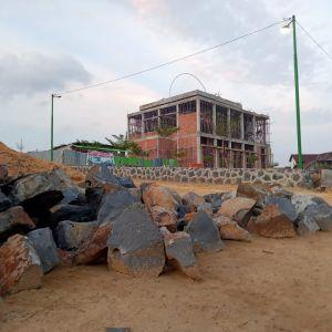Pembangunan Masjid Bian Sudah 40 Persen
