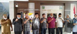 DPRD Tebo Sambut Kunjungan Kerja DPRD Pasaman Barat