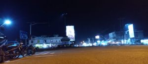Lampu Simpang Tugu Tebo Padam, Patung Sulthan Thaha Tak Terlihat
