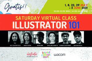 Ingin Jadi Ilustrator Profesional? Ayo Ikuti Pelatihan Gratis