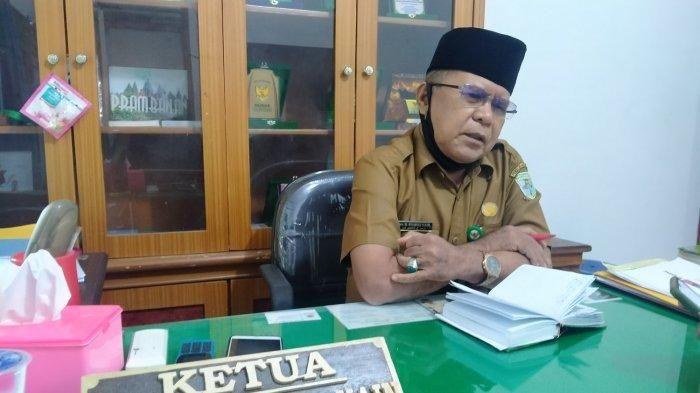 Kepala Baznas Kota Jambi, Syamsir Naim .