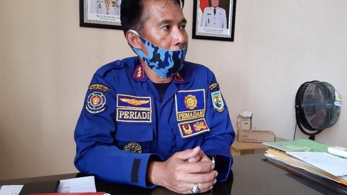 Kepala Dinas Pemadam Kebakaran dan Penyelamatan Kota Jambi Feriadi.
