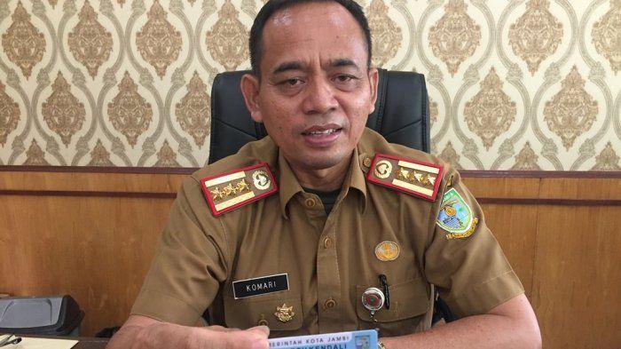 Kepala Dinas Perindustrian dan Perdagangan Kota Jambi, Komari.