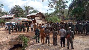Tim Kembali Sosialisasi Penertiban Illegal Drilling di Batanghari