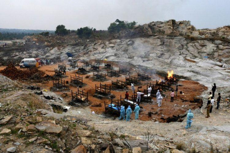 India Catat Rekor Lagi, 412.262 Kasus dan 3.980 Kematian Akibat Covid