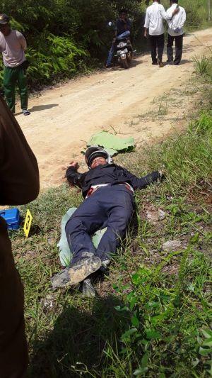 Mayat Tergeletak di Bagan Pete, di Lokasi Ditemukan Sajam dan Magazine