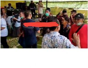 Beredar Video Acara Sertijab Mantan Lurah, Di Duga Langgar Prokes