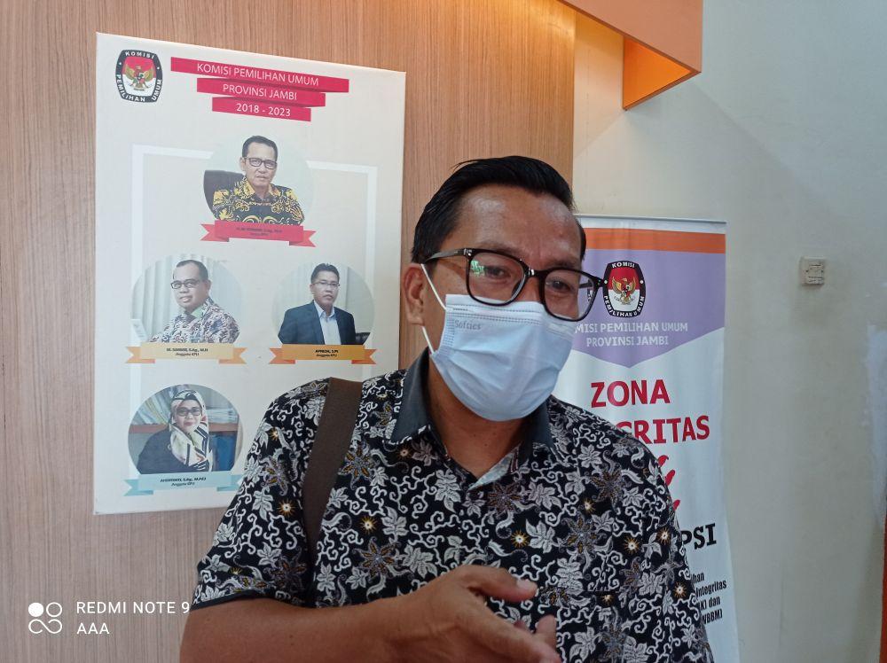 Apnizal, Komisioner KPU Provinsi Jambi