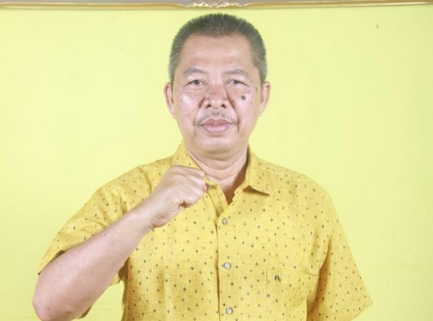 Sekretaris DPD I Golkar Provinsi Jambi, A Rahman .