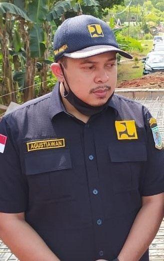 Kabid Bina Marga Dinas PUPR kota Jambi, Agustiawan.