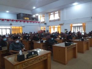 Baru 10 Anggota DPRD Tebo yang Sudah Divaksin