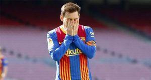 Selamat Tinggal Messi, Sang Megabintang Terlihat Menangis Saat Beri Salam Perpisahan