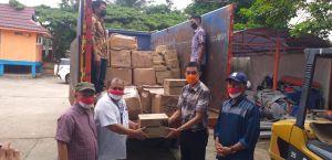 Sinergi Dengan Pemprov, PTPN VI Salurkan Bantuan Beras dan Alkes