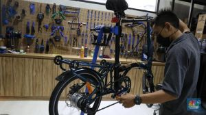 Harga Sepeda Lipat Makin Hancur, Pedagang Banting Diskon!