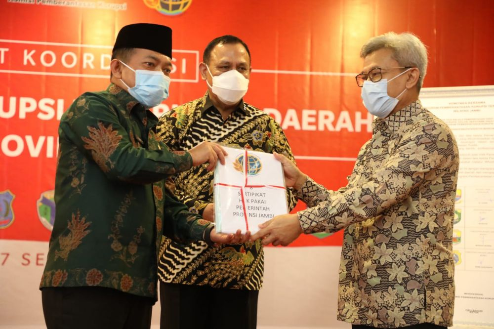 KPK Minta Komitmen Kepala Daerah di Jambi Berantas KKN