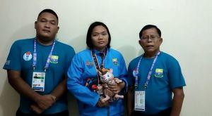 Pegulat Jambi Indri Sukmaningsih Masuk Final Kelas 76 Kg Bebas