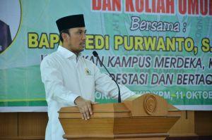 Beri Kuliah Umum di STKIP Merangin, Ketua DPRD Provinsi Jambi Edi Minta Kampus Jaga 4 Pilar Kebangsa