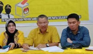 Bukan Lagi Sekretaris, A. Rahman Jabat Ketua Harian DPD I Golkar Jambi